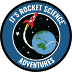 It's Rocket Science Adventures logo