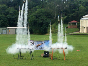 QRS Rocket launch