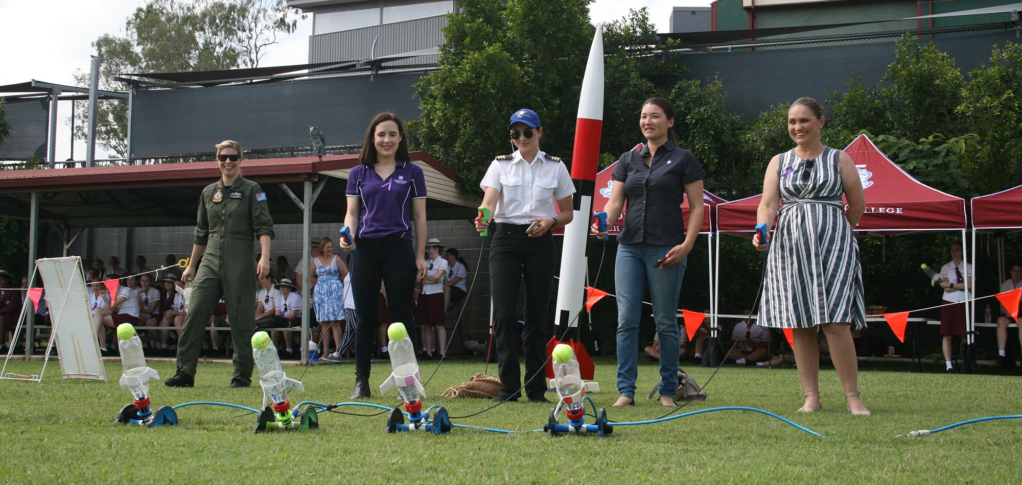 Girls in Aerospace_launch