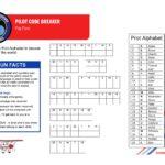 Junior Flyers Pilot Code Breaker
