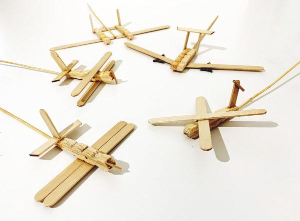 Popsicle planes