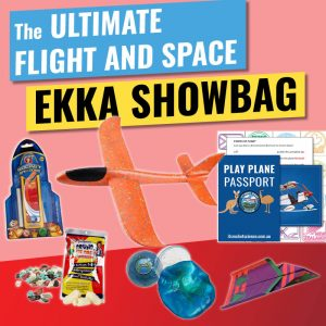 Flight and Space EKKA Showbag Web