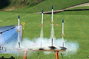 Chemical rocket launch