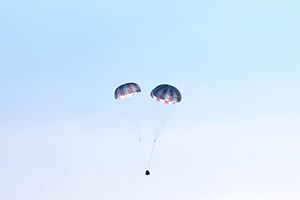 Push and pull parachutes